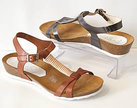 Босоножки женские кожаные Presso 3405, фото 3