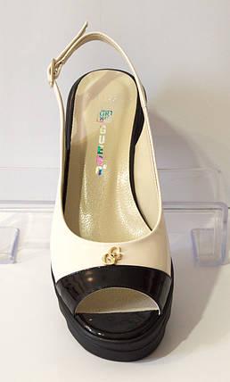 Босоножки женские лаковые Guero 1146, фото 2