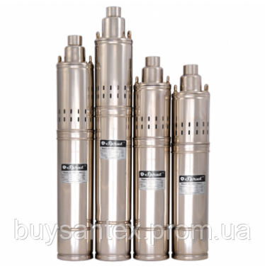 Скважинный насос 4S QGD 2,5-60-0.75kW, фото 2
