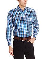 Рубашка Wrangler Wrinkle Resist, XL, Blue/Navy/White, MWR189M, фото 1