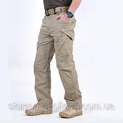 Штани чоловічі тактичні Urban Tactical міський стиль колір бежевий склад: бавовна / спандекс