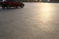 Кирпич (200х100) без фаски 60мм - цвет серый