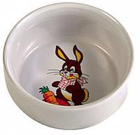 Trixie (Трикси) Кролик миска для грызунов 250 мл