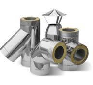 Изделия и воздуховоды из нержавеющей стали в оцинкованном кожухе