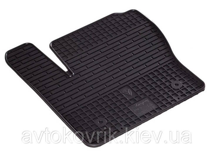 Резиновый водительский коврик в салон Ford Kuga I 2009-2013 (STINGRAY)