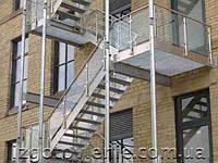 Пожарные лестницы, артикул 01-02-0002