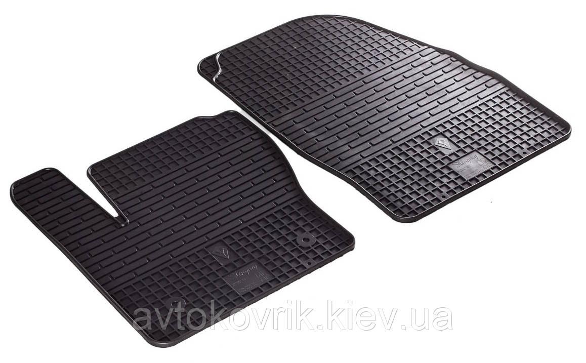 Резиновые передние коврики в салон Ford Kuga I 2009-2013 (STINGRAY)