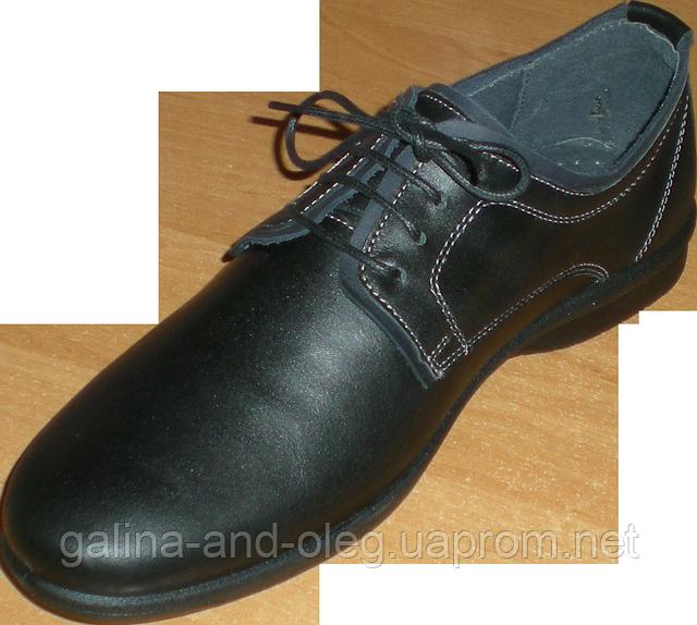 Мужские туфли на тонкой подошве