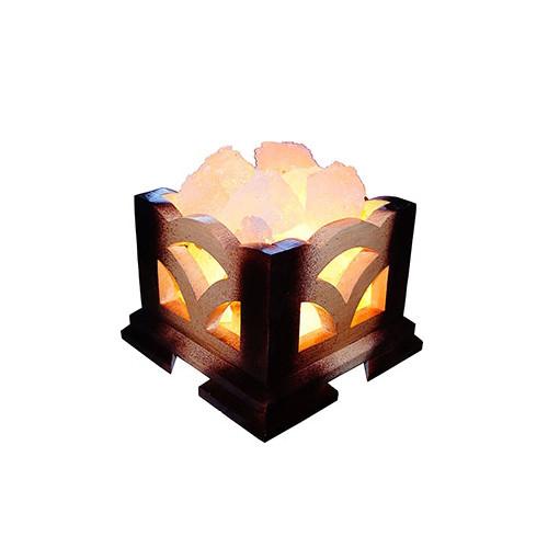 """Соляний світильник """"Камін"""" (3 кг)"""