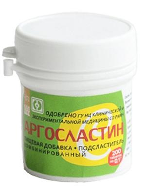 Аргосластин - интенсивный подсластитель