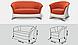 Диван тройка Комби, Алис-мебель, фото 2