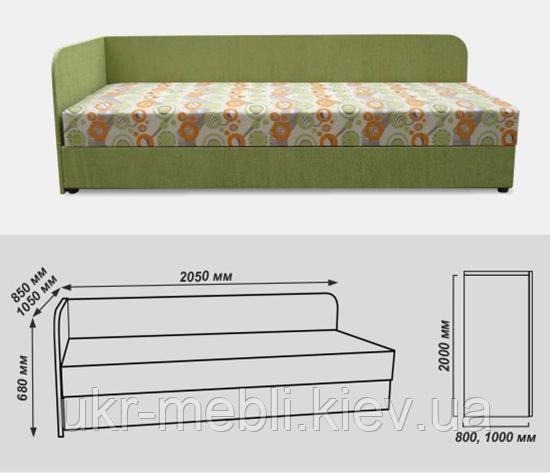 Кровать кушетка Болеро, Вика