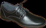 Мужские туфли на тонкой подошве, фото 5