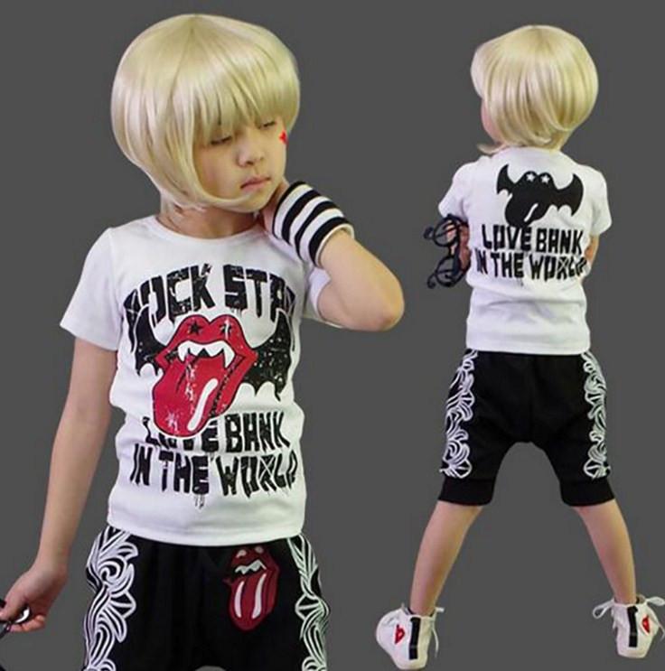 Крутой детский костюм для мальчика
