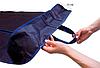 Чехол объемный для хранения одежды одежды с ручками 60*150*15 см (синий), фото 3