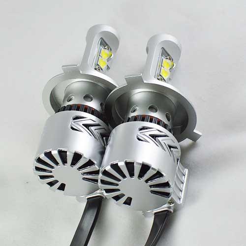 Светодиодные лампы G8  H4 в автомобиле Лада