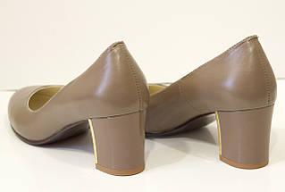 Туфли женские капучино Камея 6621, фото 2