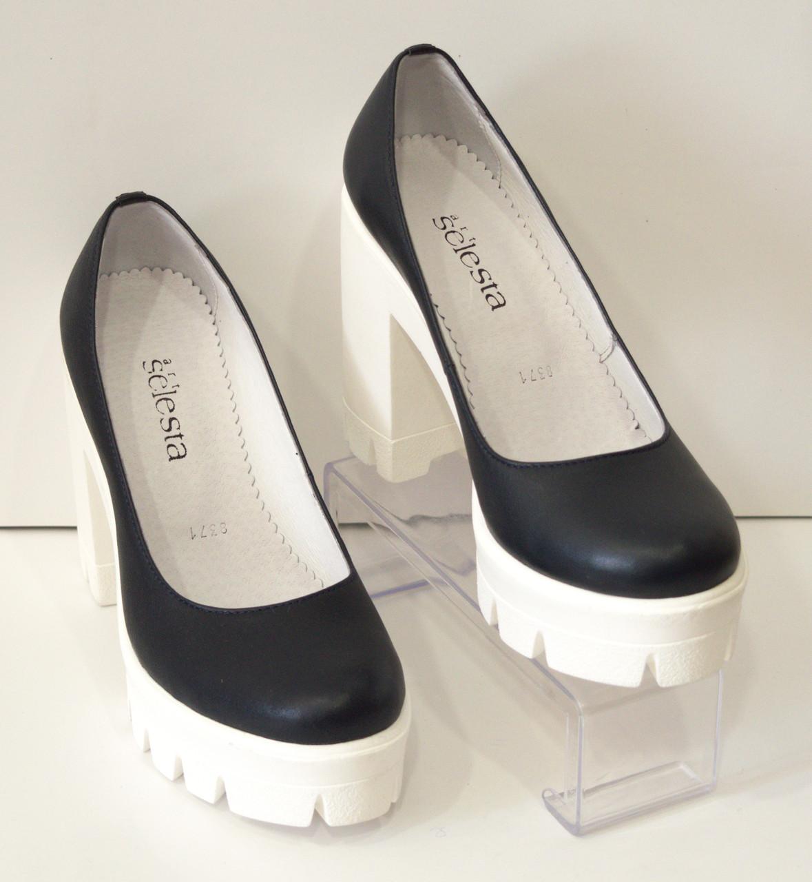 Туфли женские на высоком каблуке Selesta 8371