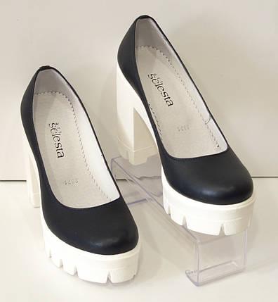Туфли женские на высоком каблуке Selesta 8371, фото 2