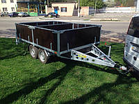 Прицеп для перевозки винограда 3м х 2м. Два тормозных торсиона!
