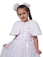 """Болеро нарядное меховое для девочек  М-908  рост 98-122 тм """"Попелюшка"""", фото 1"""
