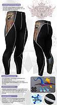 Компрессионные штаны Fixgear P2L-B27 оригинал, фото 3