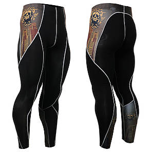 Компрессионные штаны Fixgear P2L-B27 оригинал, фото 2