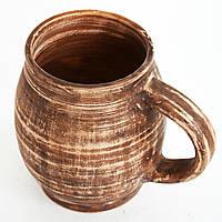 Пивная кружка глиняная