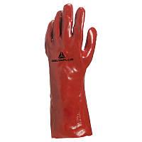 Перчатки защитные ПВХ DELTA PLUS PVC7335