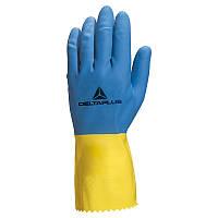 Перчатки защитные латексные DELTA PLUS VE330BJ06-09