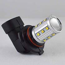 Автомобильная LED лампа SL LED  в противотуманные фонари Цоколь HB4(9006) 22W Линза, 6000K, фото 3