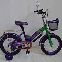 Детский двухколесный велосипед Gallop 14 дюймов