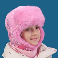 Шапка для девочки TuTu арт.3-000860 (50-52, 54-56), фото 1