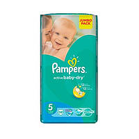Подгузники Pampers Active Baby-Dry Junior 5 (11-18 кг) 58 шт