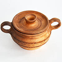 Глиняный горшочек для запекания