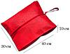 Объемная сумка-пыльник для обуви на молнии (красный), фото 2