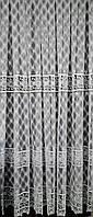 Тюль вышивка на органзе Ромашки