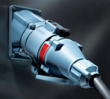 Силовой промышленный разъем 250 А ампер вилка кабельная + розетка на корпус цена купить
