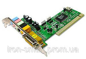 Звуковая карта C-Media, PCI, 32-bit, 6-Channels, C-Media 8738
