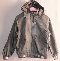 Детская курточка на флисе серая № 1167, фото 1