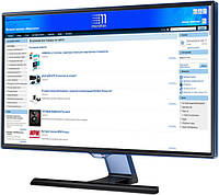 Монитор 27' Samsung S27E390HSO, Black, WLED, PLS, 1920x1080, 4 мс, 300 кд/м2, 1000:1, 178°/178°, VGA/HDMI, (LS27E390HSO/CI)
