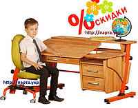 Детская парта и кресло для школьника по лучшей цене В НАЧАЛЕ ЛЕТА.
