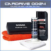 Sonax 226 941 PremiumClass Nano Lack Versiegelung набор нано-защита кузова на 1 год 50мл + 250 мл