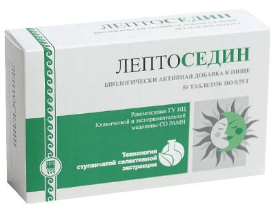 Лептоседин - успокаивающее, антистрессорное, общеукрепляющее средство, фото 2