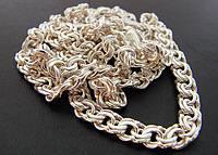 Бисмарк. Серебряная цепочка, 60 см, фото 1