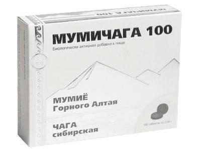Мумичага 100 - уникальный комплекс горноалтайского мумия и чаги сибирской, фото 2