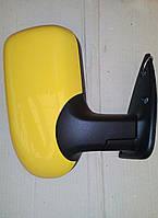 Боковые зеркала Желтого цвета, нового образца на автомобиль Газель.