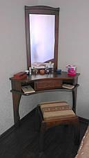 """Кутовий туалетний столик з дерева від виробника """"Дарина"""", фото 3"""