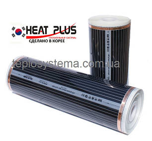 Теплый пол – инфракрасная нагревательная пленка HEAT PLUS - SPN - 310 ( 1,0 м) 220 Вт/м2 (Ю.Корея), фото 2
