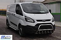 Боковые пороги для Ford Transit(Custom) 2012+ Middie ST Line